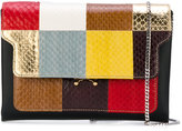 Marni Mini Trunk patchwork bag