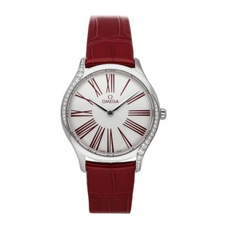 Omega De Ville Red Steel Watches