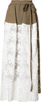 Vivienne Westwood Gabriella skirt - women - Cotton/Polyamide - 42