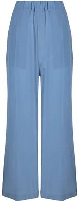 Jejia Slip-On Silk Palazzo Trousers