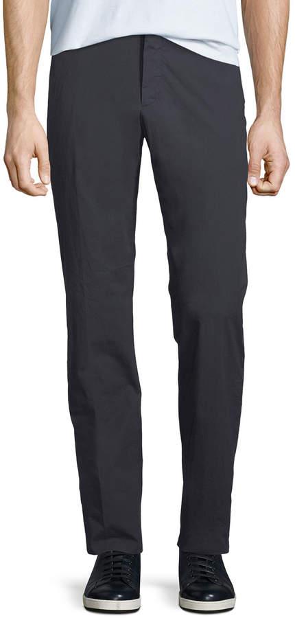 Ermenegildo Zegna Men's Cotton-Blend Straight-Leg Pants