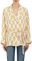 Giada Forte Women's Neat Silk Wrap-Front Jacket