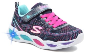 Skechers S Lights Shimmer Beams Sparkle Glow Light-Up Sneaker - Kids'