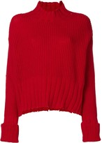 MSGM high neck knit sweater