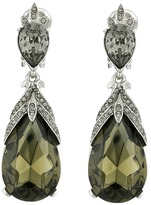 Oscar de la Renta Bold Teardrop C Earrings Earring