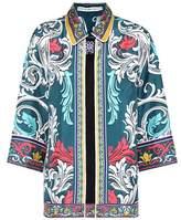 Mary Katrantzou Printed silk shirt