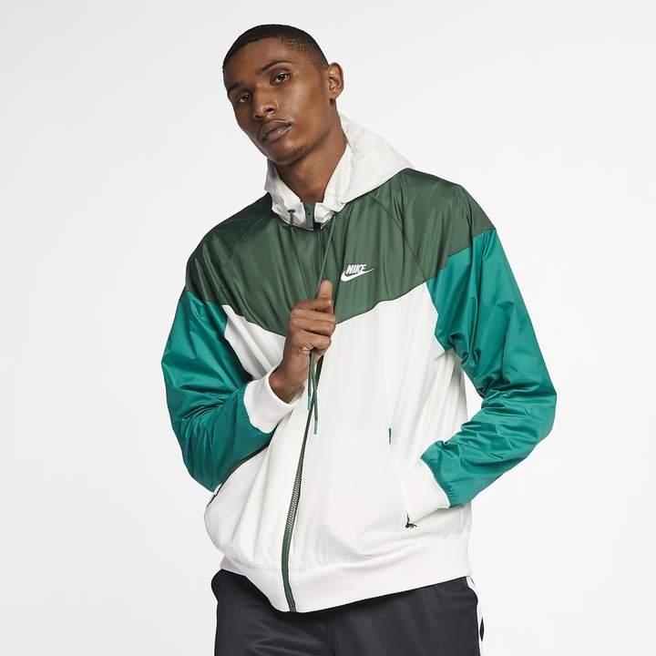 Nike Men's Hooded Windbreaker Sportswear Windrunner (Loose Fit)