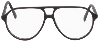 VIU Black Matte The Aviator Glasses