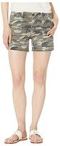KUT from the Kloth Alice Shorts w/ Porkchop Pockets in Olive (Olive) Women's Casual Pants