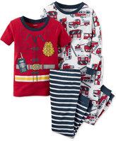 Carter's Baby Boys' 4-Pc. Fire Chief Pajamas Set