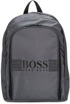 Boss Kids logo backpack