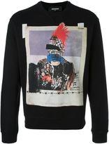 DSQUARED2 photo print sweatshirt