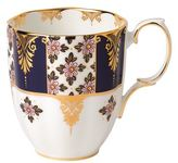 Royal Albert 100 Years Regency Blue Mug