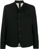 Forme D'expression high collar blazer