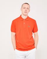 Lacoste Short Sleeve Polo Shirt Orange