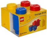 Room copenhagen LEGO 3-pc. Storage Brick Multi-Pack by Room Copenhagen