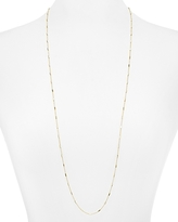 Argentovivo Bar Station Chain Necklace, 36
