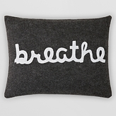 Alexandra Ferguson Breathe Decorative Pillow, 14 x 18