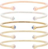 Kendra Scott Kriss Set of 5 Bracelets in Metallic Gold.