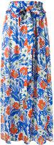 Etro floral print maxi skirt - women - Silk - 44