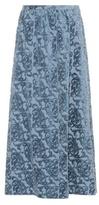 Undercover Cotton-blend devore skirt