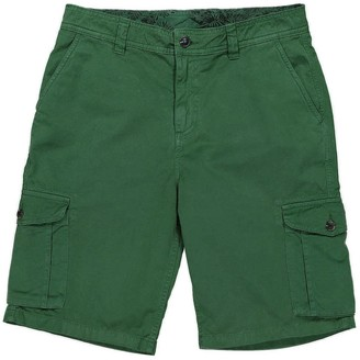 Panareha Crab Cargo Shorts Green