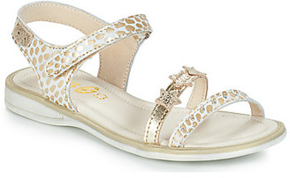 GBB SWAN girls's Sandals in White