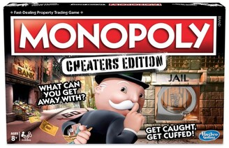 Hasbro Games Monopoly Cheaters Edition