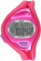 Asics Ar05 Runner Womens Pink Strap Watch-Cqar0504y