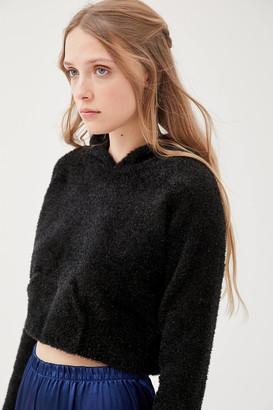 For Love & Lemons Jacques Fuzzy Hoodie Sweatshirt