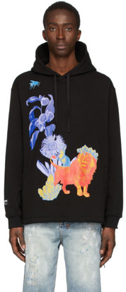 Double Rainbouu Black Great and Small Couch Surf Hoodie