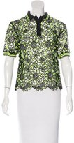 MSGM Lace Polo Top w/ Tags