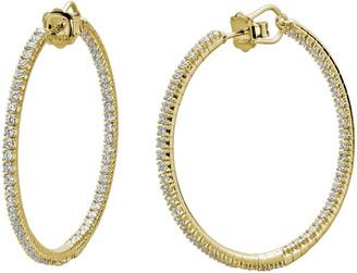 Mattia Cielo Rugiada 18K Diamond Hoop Earrings, 2.14tcw