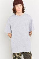 Uo Grey Oversized Skate T-shirt