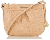 Brahmin Melbourne Tara Leather Crossbody Bag - Orange