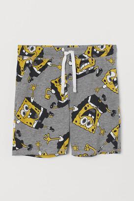 H&M Patterned Jersey Shorts