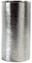 Torre & Tagus Short Helio Hammered Cylinder Vase