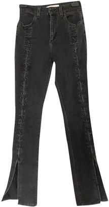 Jonathan Simkhai Black Cotton Jeans