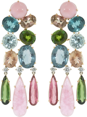 Irene Neuwirth Jewelry Chandelier Earrings