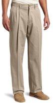 Lee Men's Big-Tall Comfort-Waist Custom-Fit Pleated Pant