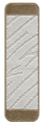 "Union Rustic Farrel Moroccan Stair Tread Tread Size: Rectangle 9"" x 2' 1"", Color: Dark Ivory"