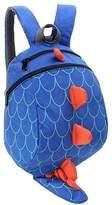 YUHUAWYH Cute Dinosaur Backpacks Kids Toddler School Bags Anti Lost Boys 1-5 Years
