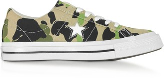 Converse Limited Edition One Star w/ Archive Prints Remix Low Top