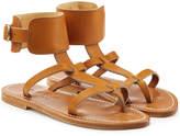 K. Jacques Caravelle Leather Sandals
