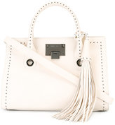 Jimmy Choo Riley studded tote bag - women - Leather - One Size