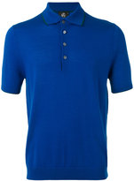Paul Smith knitted polo shirt