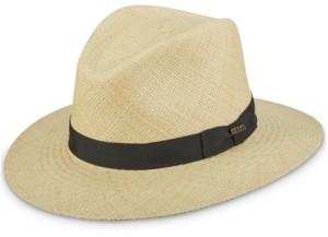 Scala Dorfman Pacific Men's Bubble-Top Panama Safari Hat