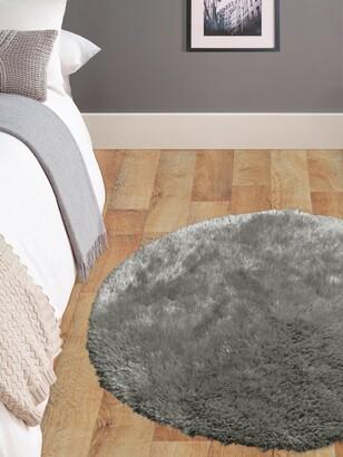 Circle Rug - Grey