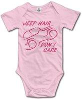 ZSUN Bodysuits Jeep Hair Don't Care Baby Bodysuits