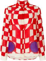 J.W.Anderson checkered shirt